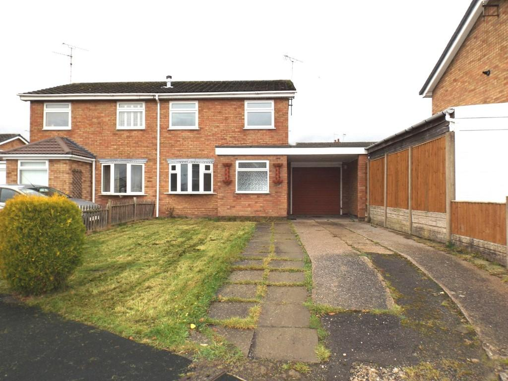3 Bedrooms Semi Detached House for sale in Lodgefields Drive, Crewe
