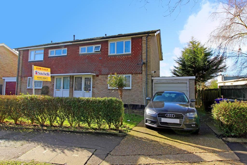 3 Bedrooms Semi Detached House for sale in Radburn Way, Letchworth Garden City, SG6