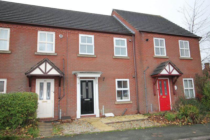 2 Bedrooms Terraced House for sale in Bank Way,Ketley Grange,Telford