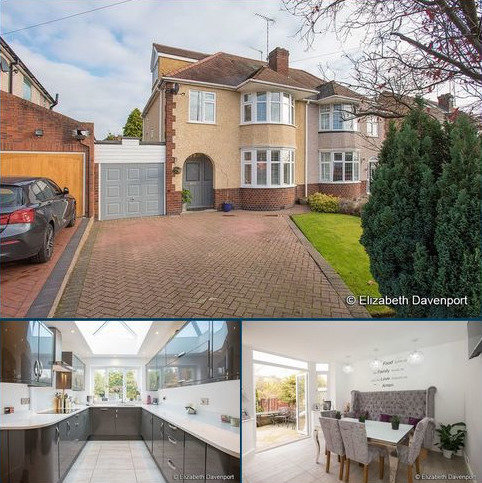 4 bedroom semi-detached house for sale - Baginton Road, Coventry