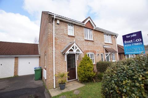3 bedroom semi-detached house for sale - Doulton Gardens, Whitecliff, Poole