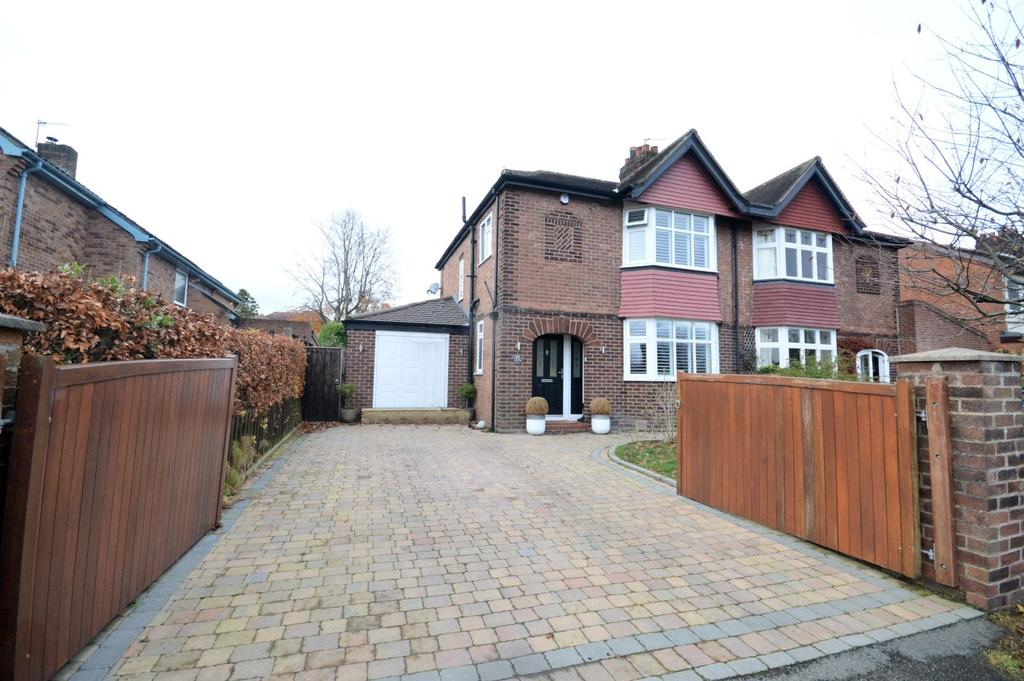 3 Bedrooms Semi Detached House for sale in Highfield Avenue, Appleton, Warrington