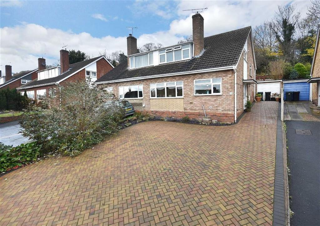 3 Bedrooms Semi Detached House for sale in 45, Hillside Avenue, Low Town, Bridgnorth, Shropshire, WV15