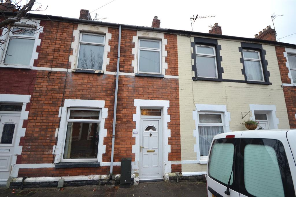 2 Bedrooms Terraced House for sale in Spring Gardens Place, Splott, Cardiff, CF24