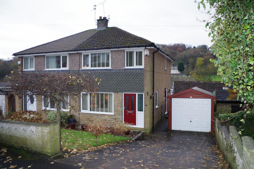 3 Bedrooms Semi Detached House for sale in Woodroyd Drive, Wheatley, Halifax HX3