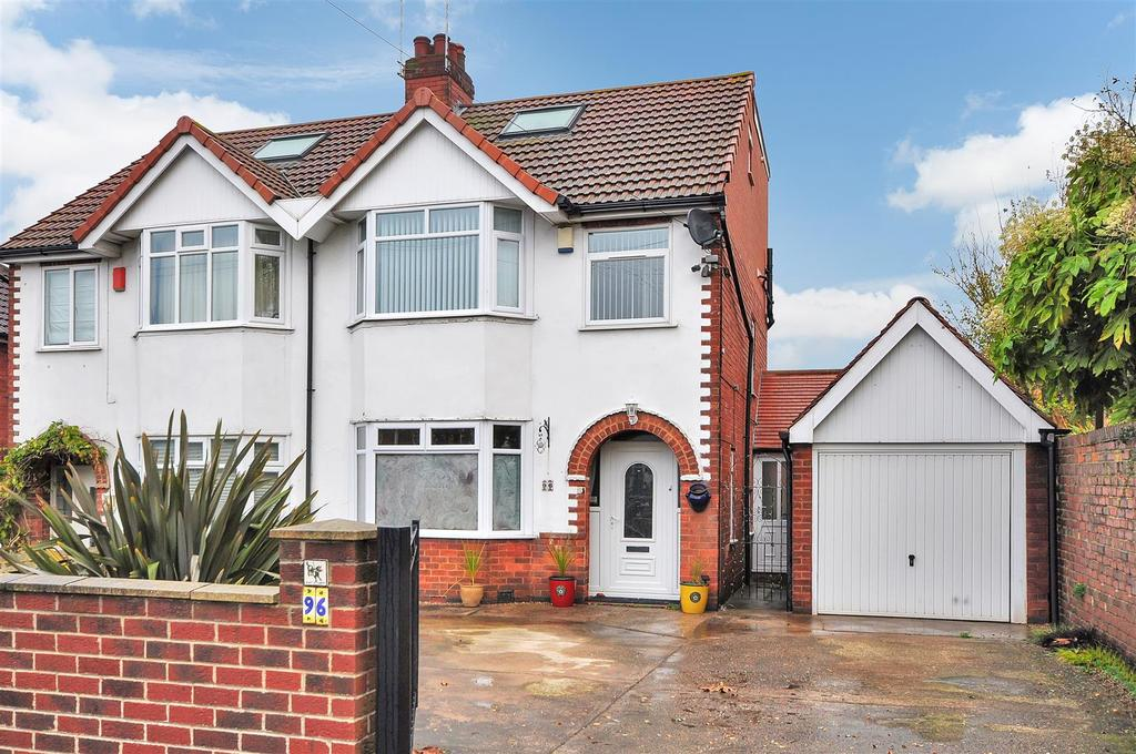 3 Bedrooms Semi Detached House for sale in Redhill Road, Arnold, Nottingham