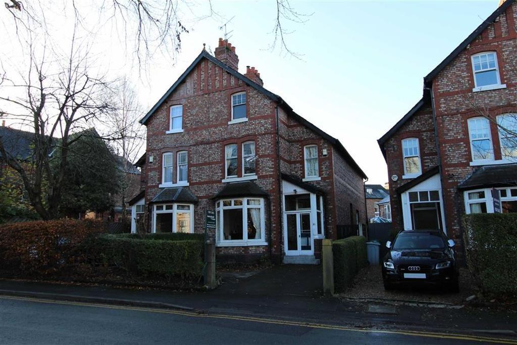 5 Bedrooms Semi Detached House for sale in Trafford Road, Alderley Edge