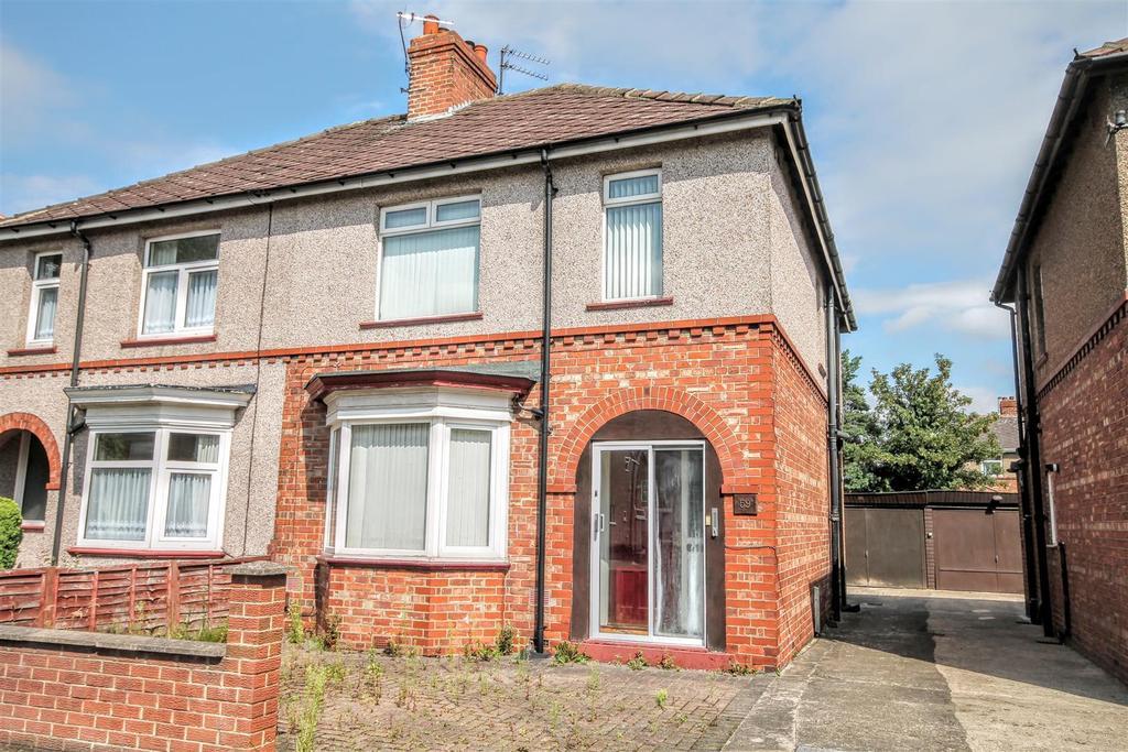 3 Bedrooms Semi Detached House for rent in Geneva Road, Darlington