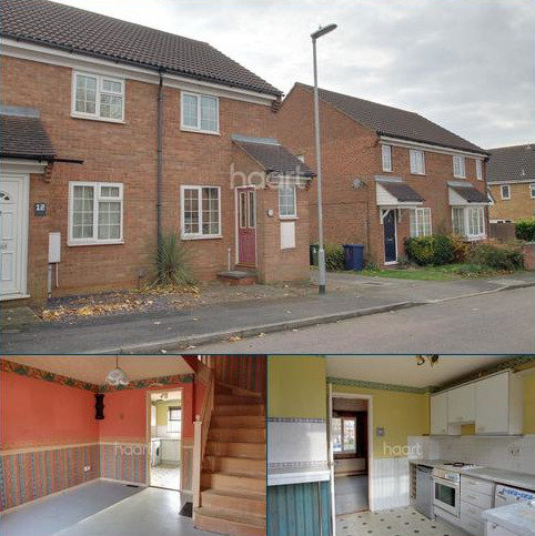 2 bedroom end of terrace house for sale - St Neots