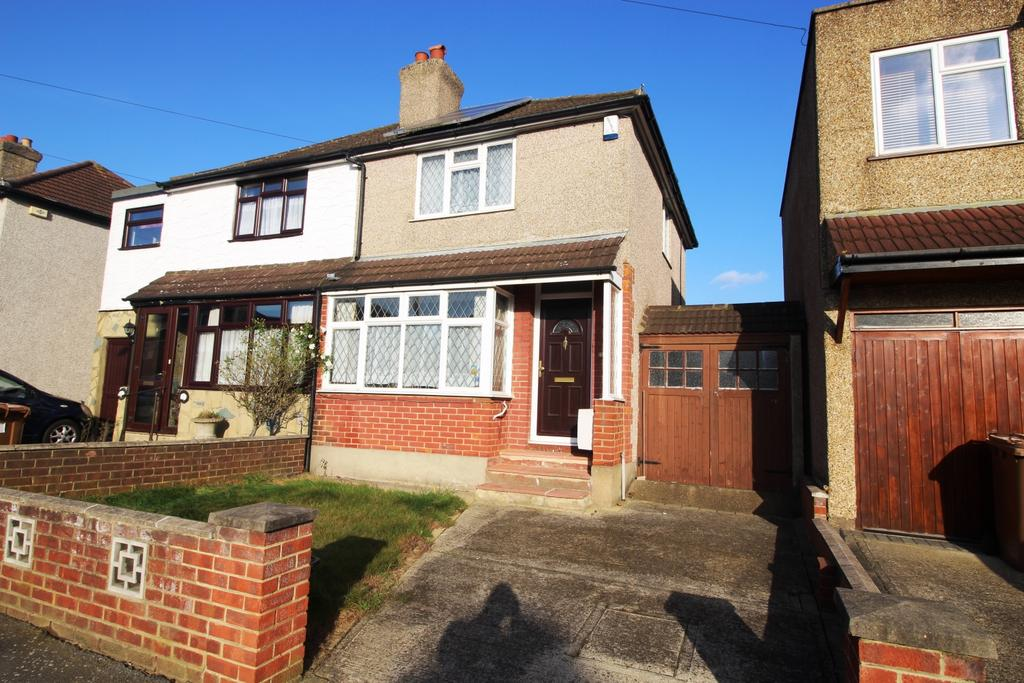 2 Bedrooms Semi Detached House for sale in Grosvenor Road Bexleyheath DA6