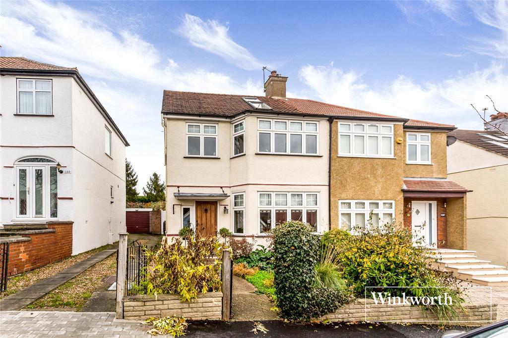 4 Bedrooms Semi Detached House for sale in Fitzjohn Avenue, Barnet, Herts, EN5