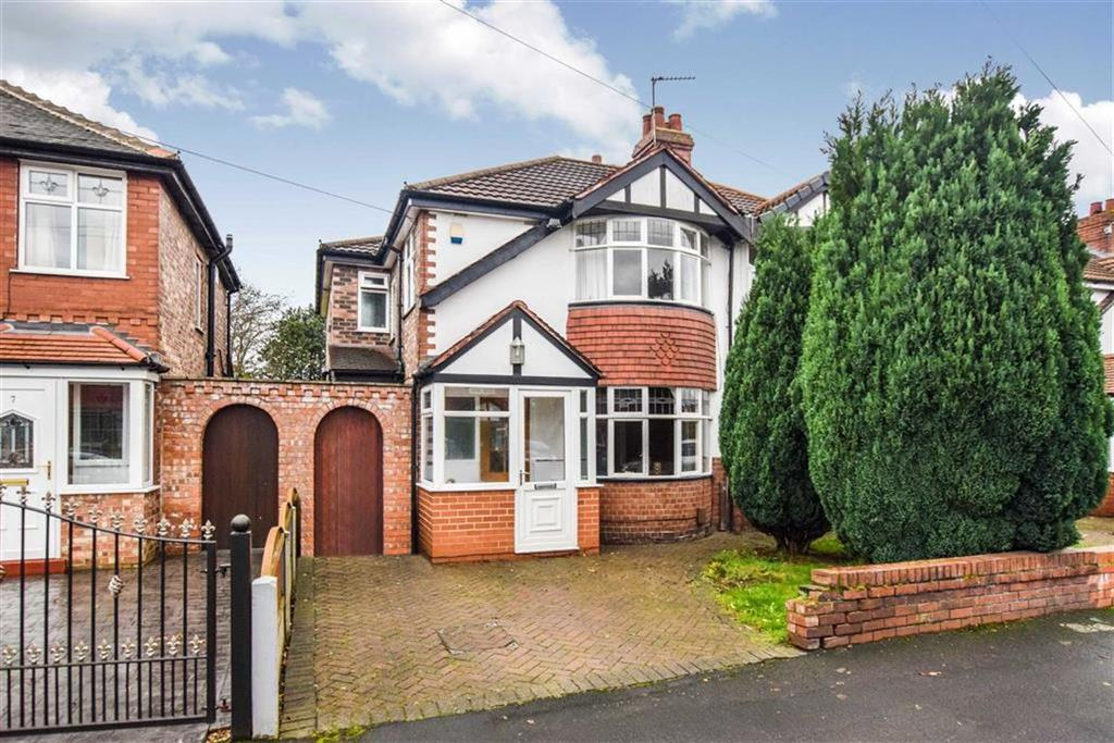 4 Bedrooms Semi Detached House for sale in Arderne Road, Timperley, Cheshire, WA15