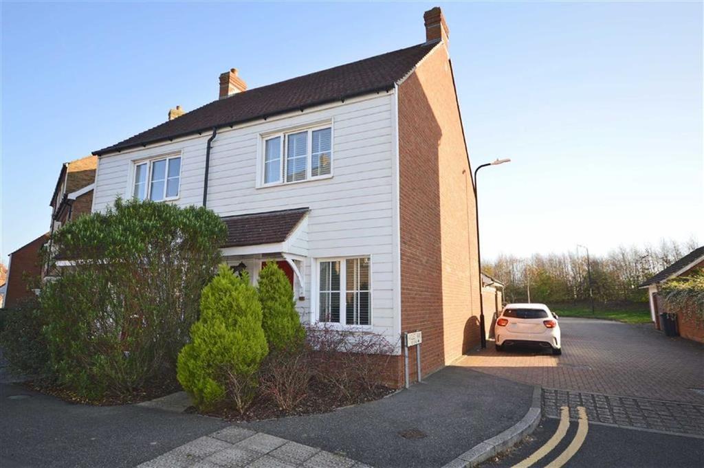 2 Bedrooms Semi Detached House for sale in Violet Way, Kingsnorth, Kent