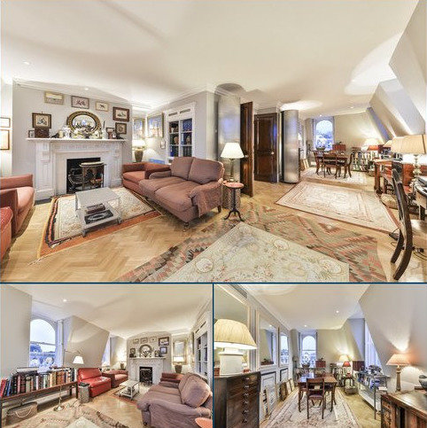 3 bedroom flat for sale - Observatory Gardens, London, W8