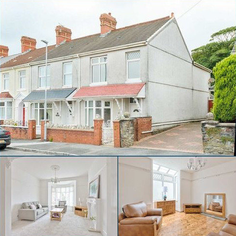 3 bedroom end of terrace house for sale - Gower View, Llanelli