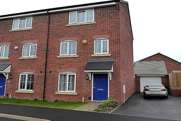 4 Bedrooms Semi Detached House for sale in Damselfly Road, Dragonfly Meadows, Northampton, NN4