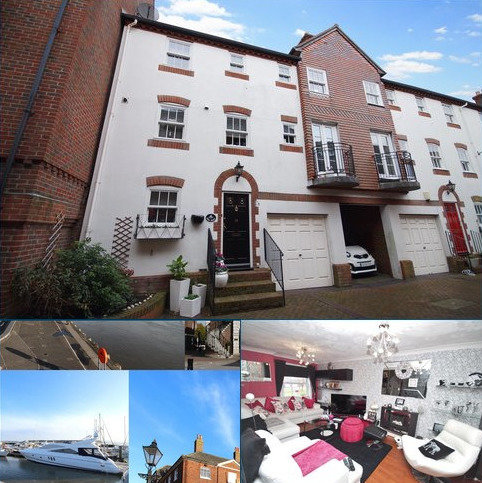 4 bedroom terraced house for sale - Barbers Wharf, Poole Quay, Poole, Dorset, BH15