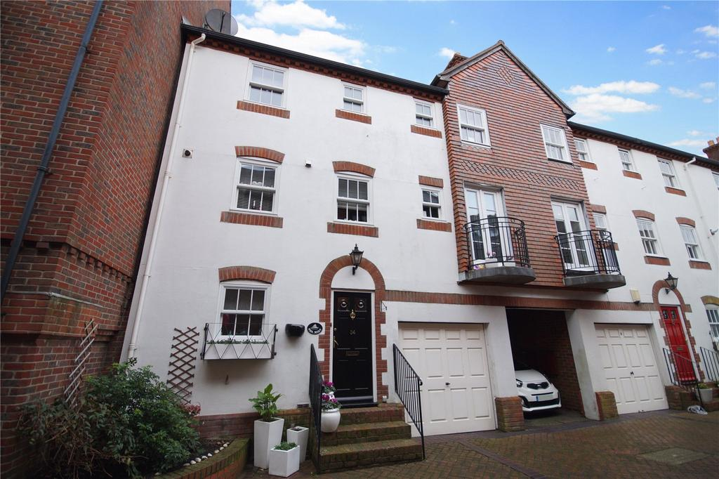 4 Bedrooms Terraced House for sale in Barbers Wharf, Poole Quay, Poole, Dorset, BH15