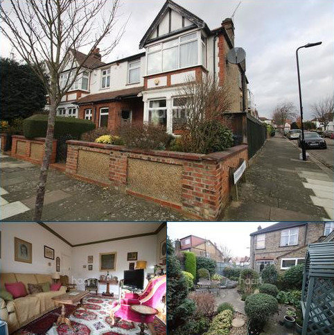 4 bedroom end of terrace house for sale - Rosebery Gardens, West Ealing