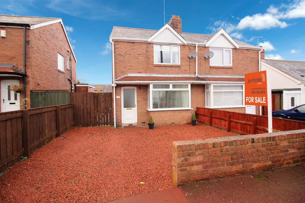 2 Bedrooms Semi Detached House for sale in Brandon Road, Newcastle Upon Tyne