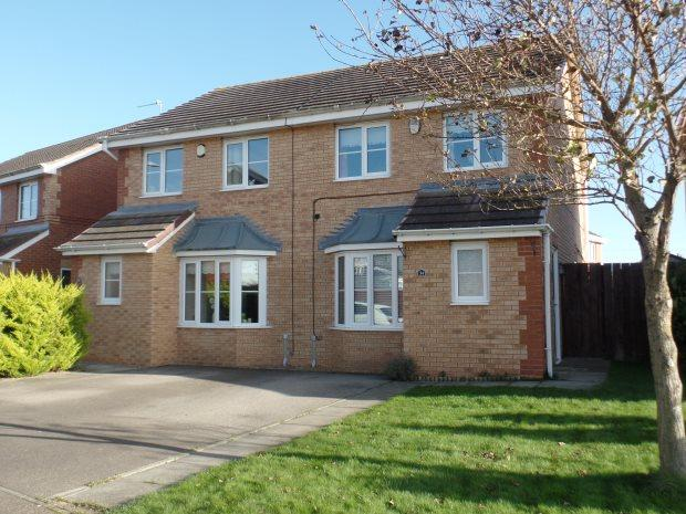 3 Bedrooms Semi Detached House for sale in ABBEYDALE GARDENS, SOUTH HETTON, PETERLEE AREA VILLAGES