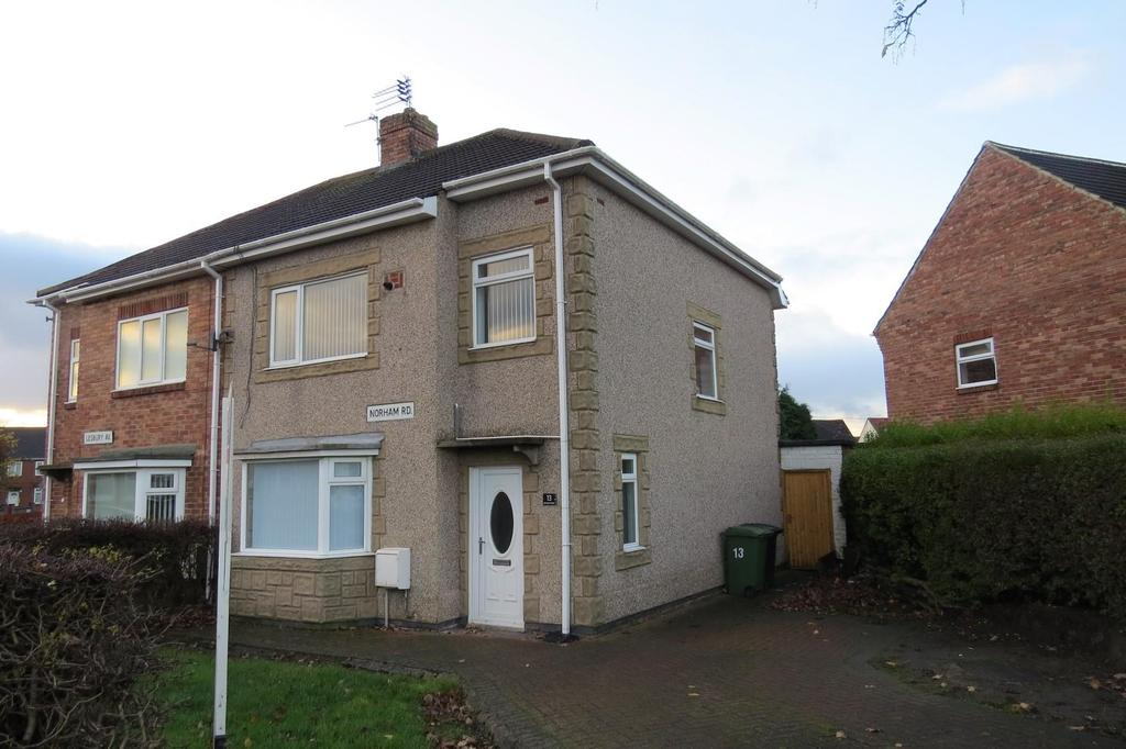 3 Bedrooms Semi Detached House for sale in Norham Road, Ashington
