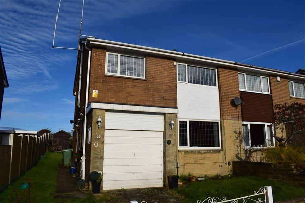4 Bedrooms Semi Detached House for sale in Meadow Park, Kirkheaton, Huddersfield, HD5