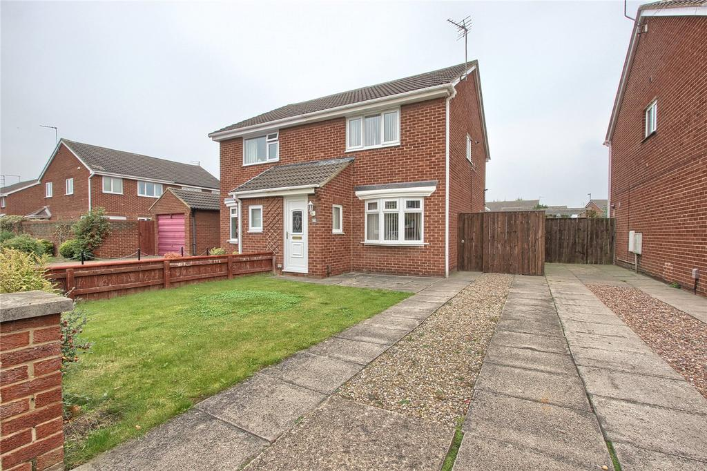 2 Bedrooms Semi Detached House for sale in Fulmerton Crescent, Redcar