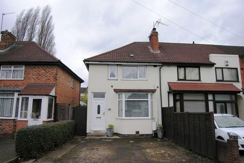 3 bedroom end of terrace house for sale - Birdbrook Road,Great Barr,Birmingham