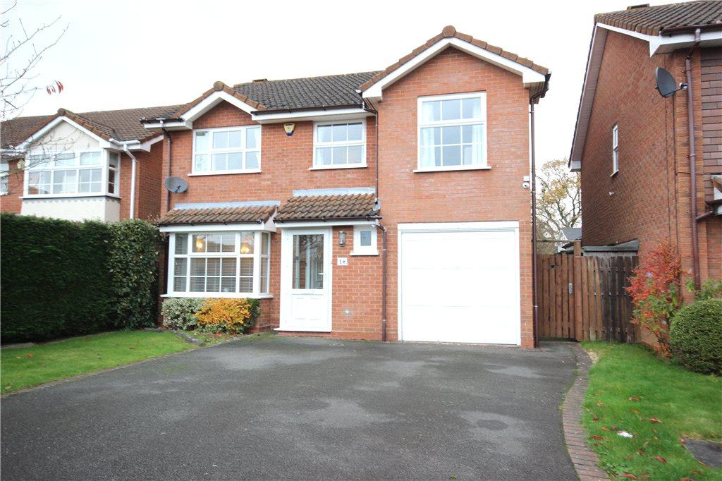 4 Bedrooms Detached House for sale in Winthorpe Drive, Solihull, West Midlands, B91