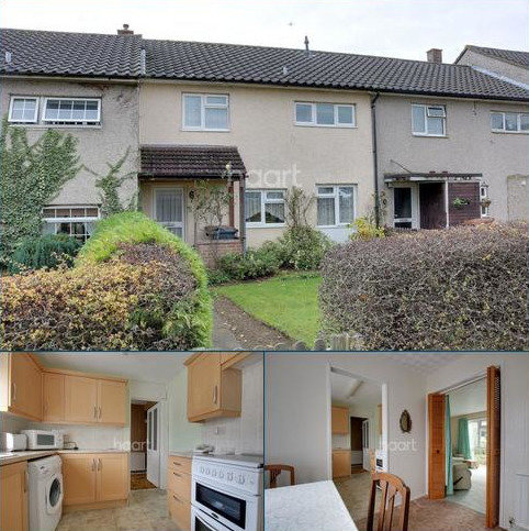 3 bedroom terraced house for sale - Bernhardt Crescent, Chells, Stevenage