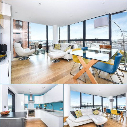 2 bedroom flat for sale - The Hawkins Tower, Admirals Quay, Ocean Way, Southampton, SO14