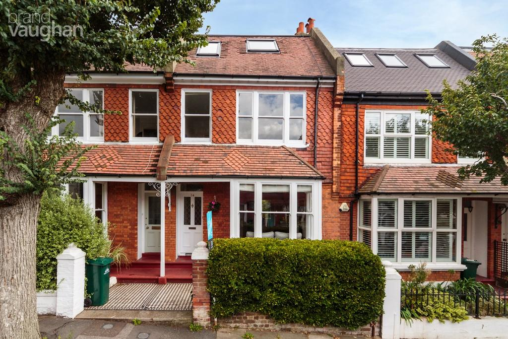 4 Bedrooms Terraced House for sale in Chanctonbury Road, Hove, BN3