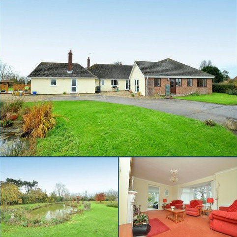 4 bedroom detached bungalow for sale - Rectory Road, Bacton, IP14 4LE