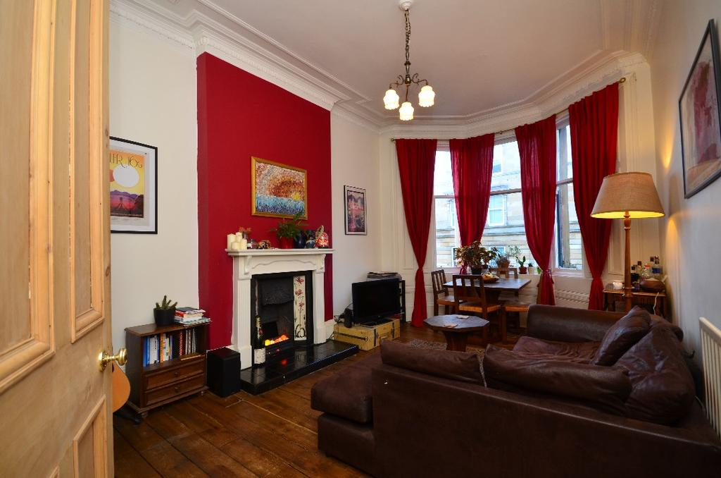 2 Bedrooms Flat for sale in Queen Margaret Drive, Flat 1/1, North Kelvinside, Glasgow, G20 8NZ