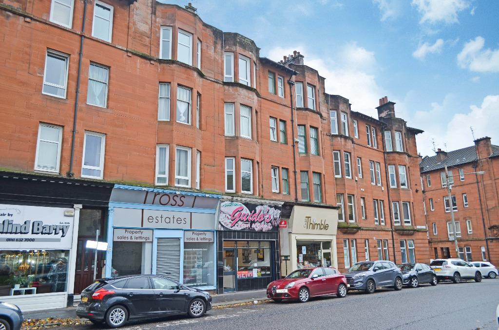 1 Bedroom Flat for sale in Coustonholm Road, Flat 3/2, Shawlands, Glasgow, G43 1TZ