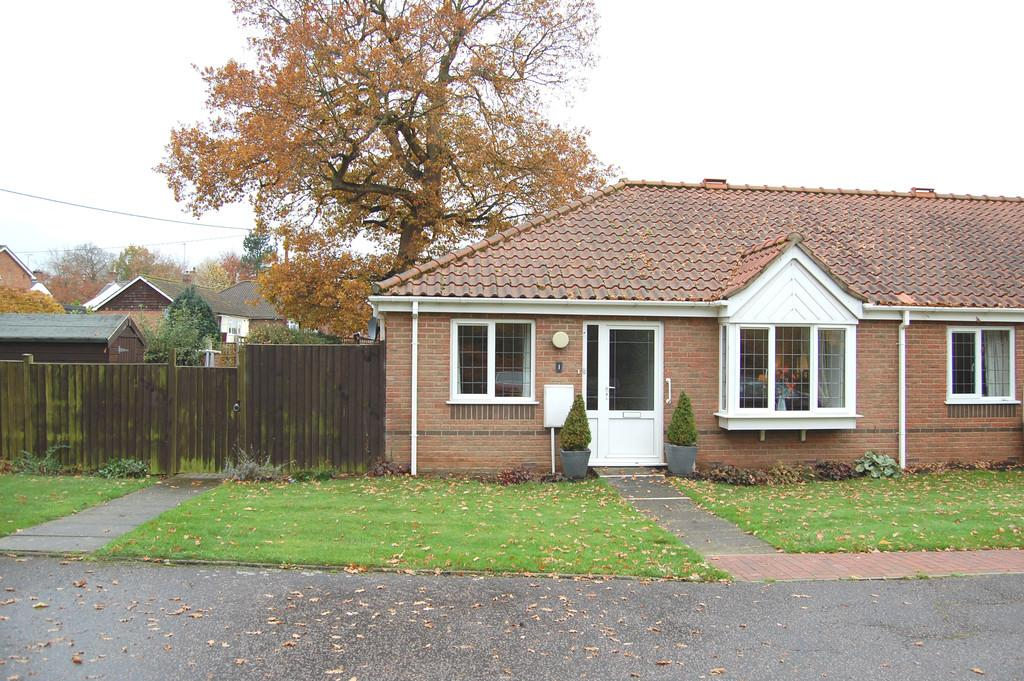 2 Bedrooms Terraced Bungalow for sale in Havergate, Horstead