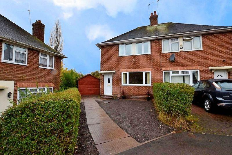 3 Bedrooms Semi Detached House for sale in Overdale Road, Quinton