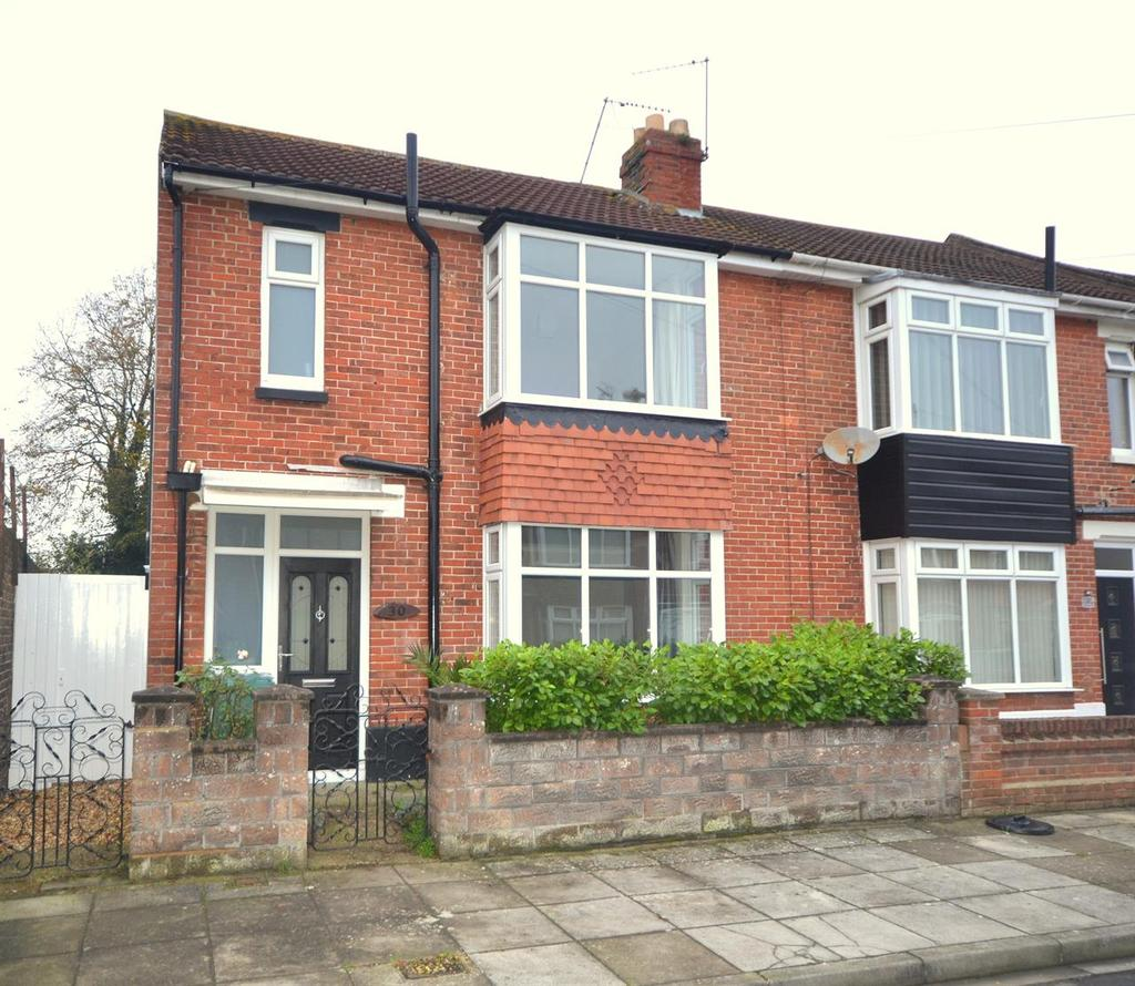 3 Bedrooms End Of Terrace House for sale in Petworth Road, Baffins, Portsmouth