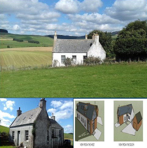 4 bedroom detached house for sale - Beechwood Cottage, Glenkindie, Alford, Aberdeenshire, AB33