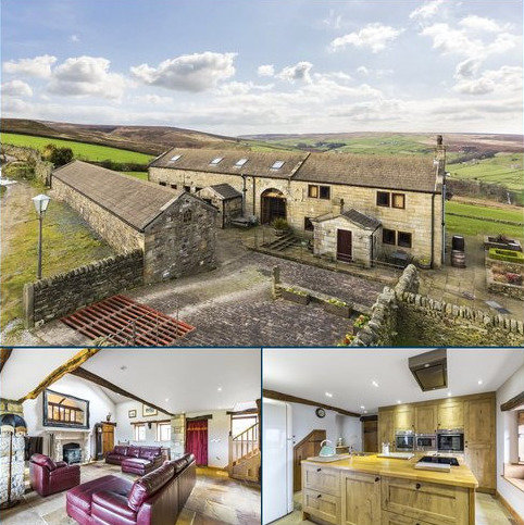 4 bedroom character property for sale - Upper Heights Farm, Stanbury, Keighley, West Yorkshire