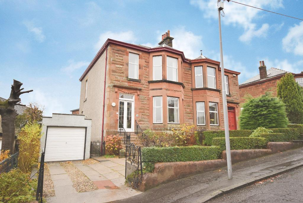 3 Bedrooms Semi Detached House for sale in St Anns Drive, Giffnock, Glasgow, G46 6JP