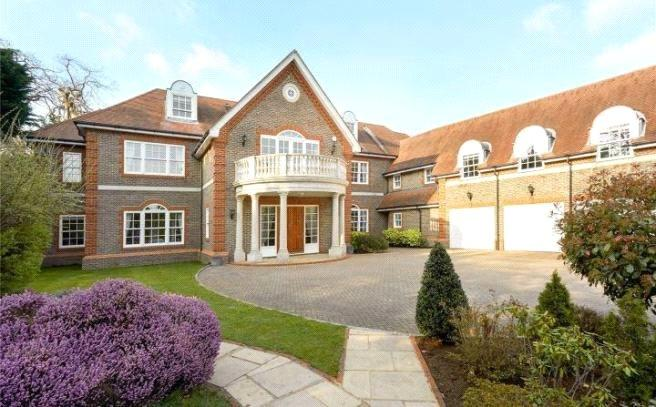 7 Bedrooms Detached House for sale in Meadway, Esher, Surrey, KT10