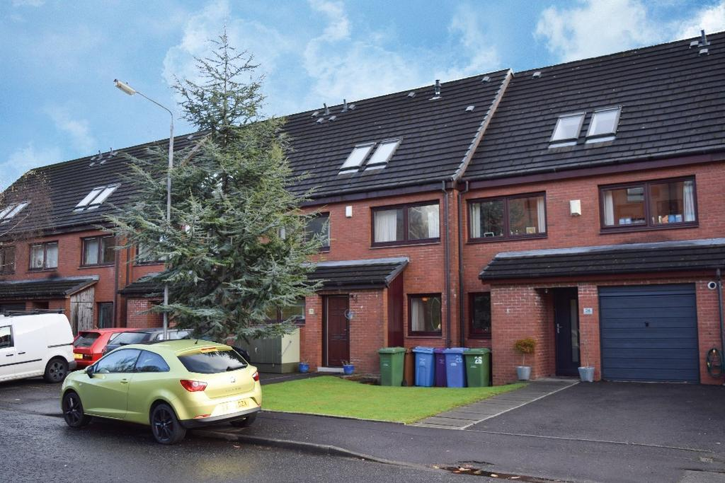 4 Bedrooms Town House for sale in Sandbank Crescent, Maryhill, Glasgow, G20 0PR
