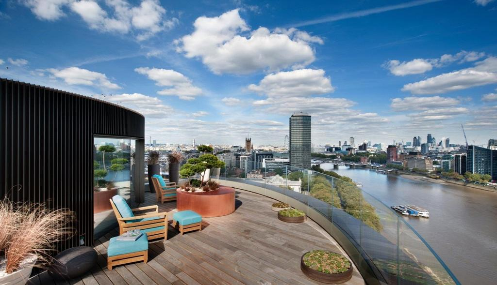 5 Bedrooms Penthouse Flat for sale in Riverwalk, 161 Millbank, London, SW1P