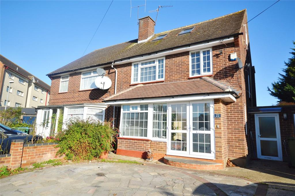 4 Bedrooms Semi Detached House for sale in The Turnstones, Garston, Hertfordshire, WD25