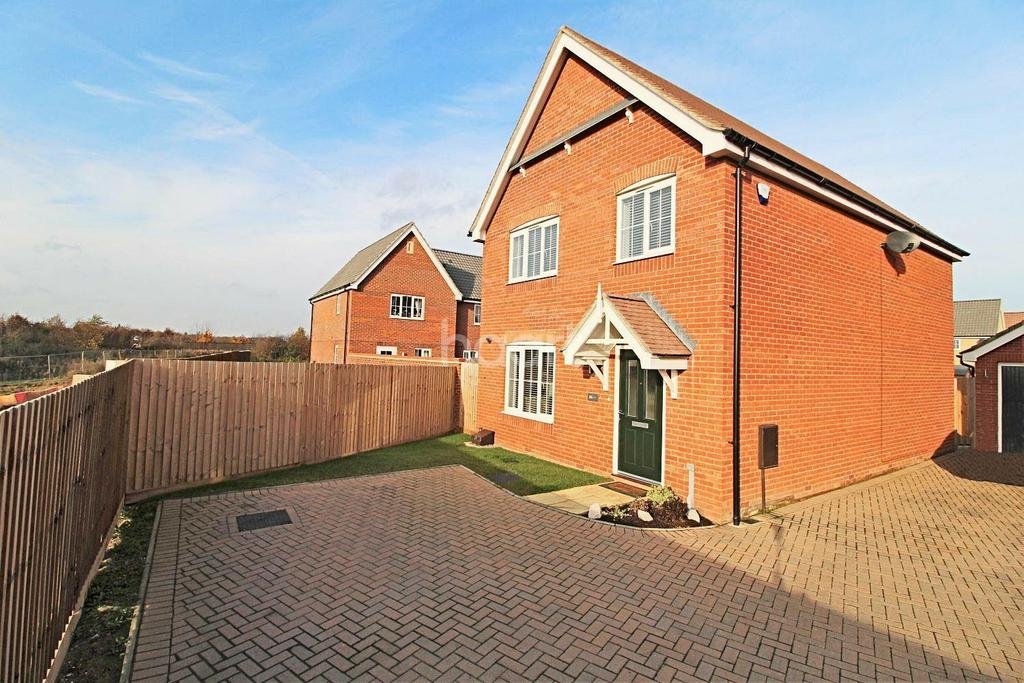 4 Bedrooms Detached House for sale in Britannia Way, Costessey