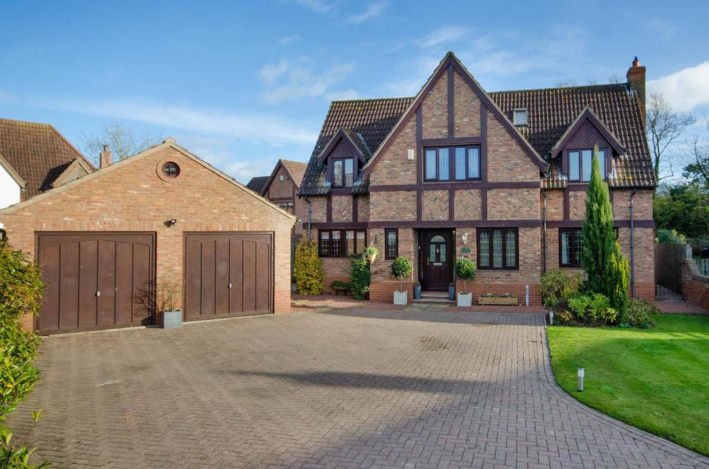 4 Bedrooms Detached House for sale in Maltings Court, Alne, York