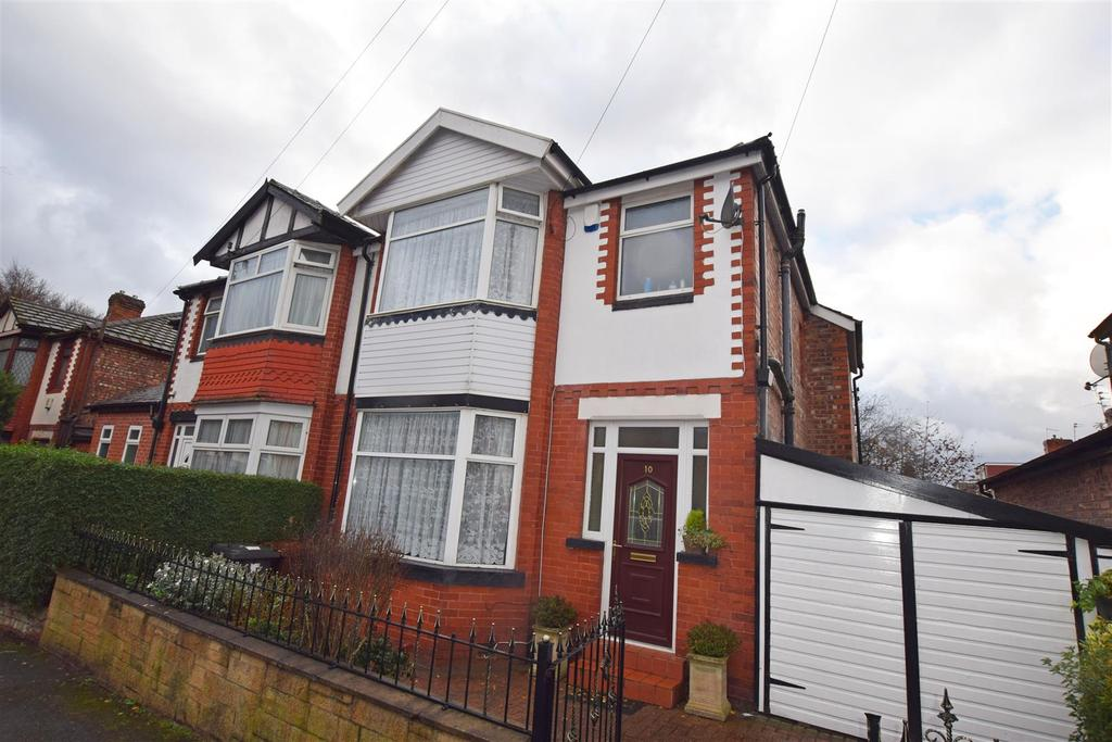 3 Bedrooms Semi Detached House for sale in Mowbray Avenue, Prestwich, Manchester