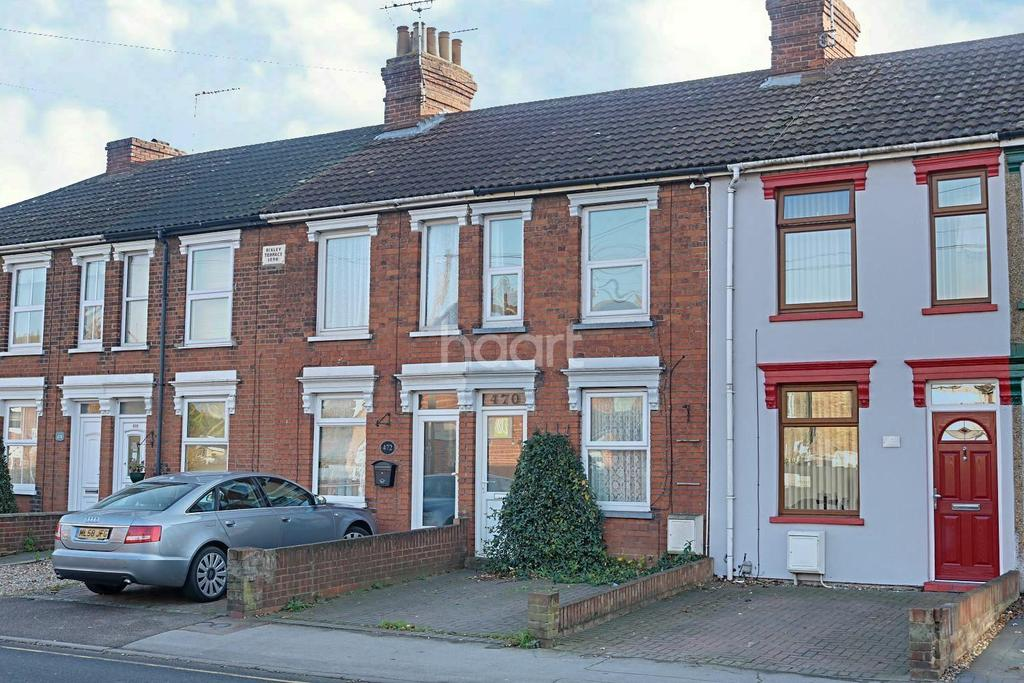 2 Bedrooms Terraced House for sale in Foxhall Road, Ipswich